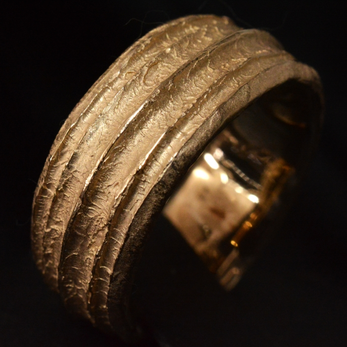 Surging Gold Ring • Yellow gold • Ring Band • #97