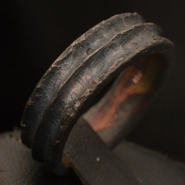 Dark Ridge Ring • .925 Sterling Silver • Ring Band • #