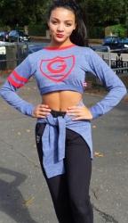 New G12 Crop Sweatshirt