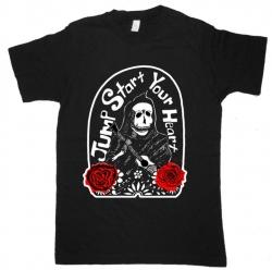 Jump Start Your Heart Unisex Skeleton T-shirt