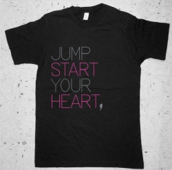 Jump Start Your Heart GIRLS Logo T-shirt