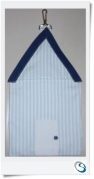 Peg / Storage bag - Beach hut shape