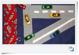 Road Play mat, Car storage