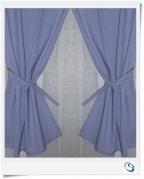 """Lavender curtains 14""""w x 19.5"""" d"""