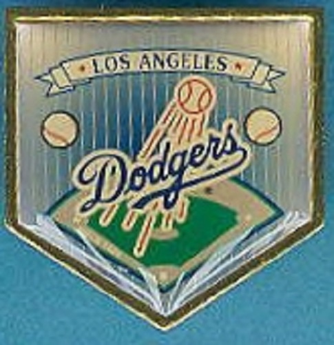 Los Angeles Dodgers MLB Pin Base Logo Hat Lapel Jacket Coat