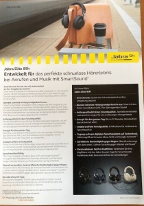 Jabra Elite 85H Datenblatt