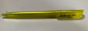 Kugelschreiber gelb, branded GN Audio
