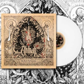 "Alunah Solennial 12"" Vinyl Album (Limited Edition Bone White)"