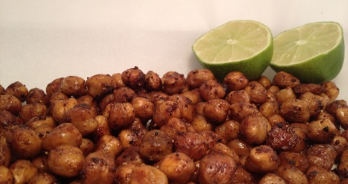 CHIPOTLE LIME CHICKPEA POPPERS – CHOLESTEROL LOWERING SNACK ~E.G.PLOTTPALMTREES.COM