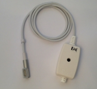 DC Connector for Apple Macbook Magsafe1 Adapter, L Shape, Aluminium Head, 5pin, 85W