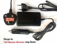 12V 1.5A Charger for BANNER Jump Starter, Banner Booster P3 Pro Professional, P3 Pro Evo Max Digital, Pro 1600A Model