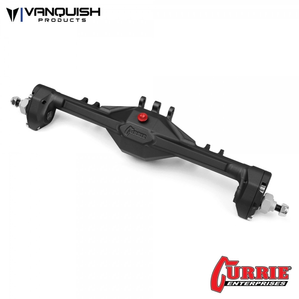 Vanquish Products VPS08360 CURRIE PORTAL F9 SCX10-II REAR AXLE BLACK ANODIZED