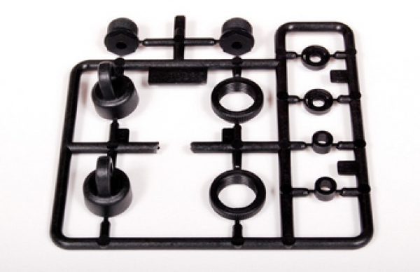 AX80035 Axial 10mm Shock Caps Parts Tree