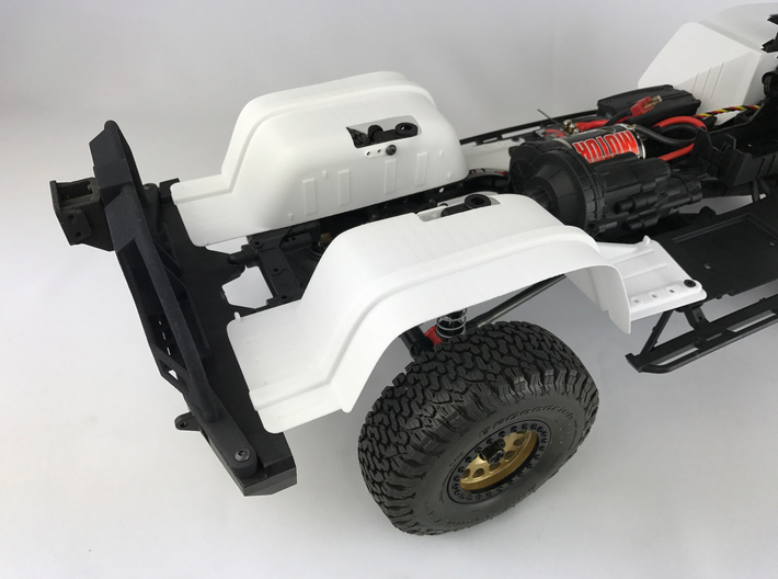 KNIGHT CUSTOM SCX10 II XJ body Inner Fender REAR #AC10005