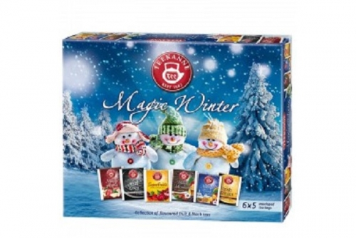 Teekanne Magic Winter Collection 6 different flavours