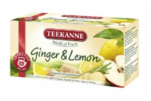 Teekanne Ginger and Lemon Tea