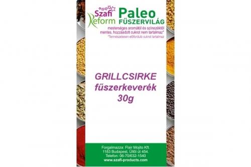 Szafi Reform Paleo Grillcsirke fűszerkeverék (gluténmentes) 30g
