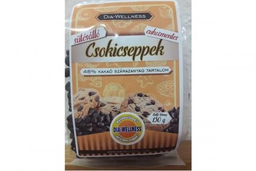 Dia-Wellness Csokicsepp Sütésálló 150g