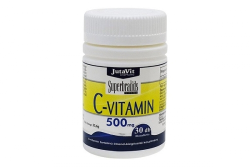 Jutavit C-vitamin 500mg tabletta – 30db