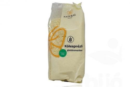 Natural gluténmentes kölesprézli 200g
