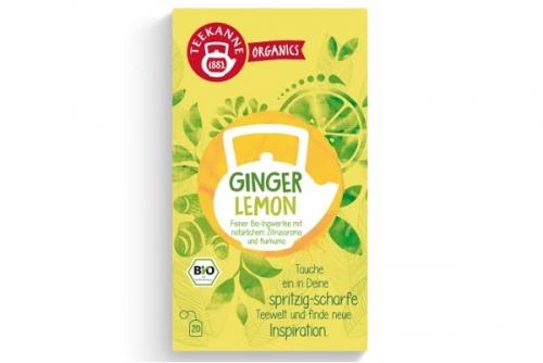 Teekanne Organics Lemon&Ginger Tea