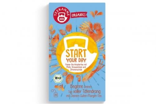 Teekanne Bio Organics Start Your Day Tea