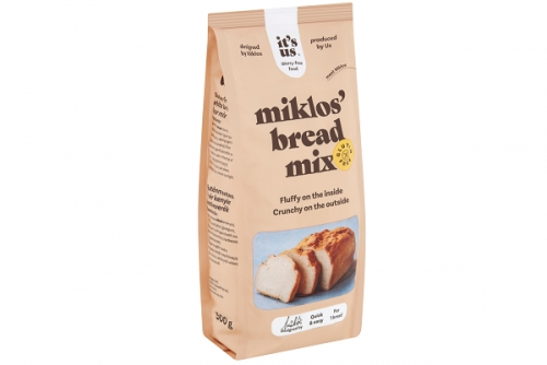 Its us Miklos gluténmentes fehérkenyér lisztkeverék 1kg