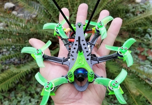 """EVO-H   Hexacopter  Frame  2"""" & 2.5"""""""