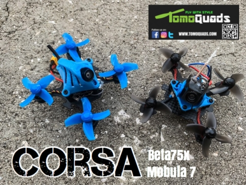 Corsa 40mm Tiny Whoop Frame Kit  V2