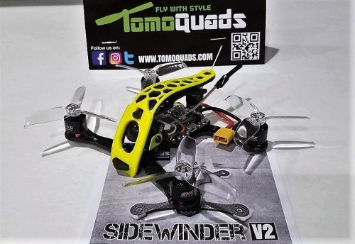 Sidewinder  V2 Ultra Light Frame Kit *Honeycomb Edition*