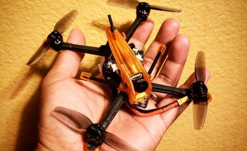 Airstrike 3 Race Quad Frame  V1.1