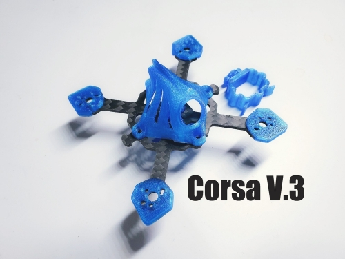 Corsa 40mm Tiny Whoop Frame Kit  V3  New Version