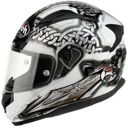 Airoh Helmet T600 Sword White Gloss Medium