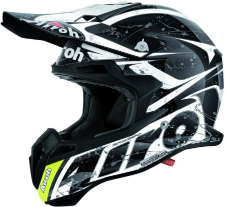 Airoh Helmet Terminator 2.1Splash Black Gloss Medium