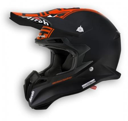 Airoh Helmet Terminator 2.1 COM Orange matt MEDIUM