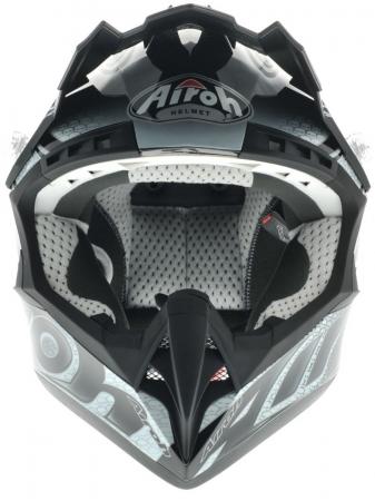 Airoh Helmet CR901 Linear Black Gloss Medium