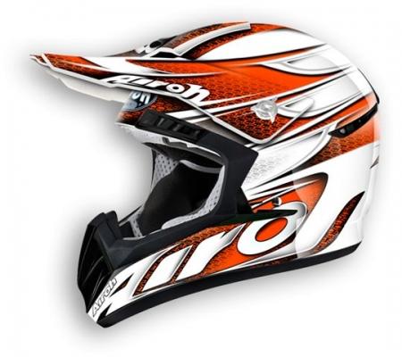 Airoh Helmet CR901 Linear Orange Gloss
