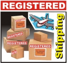 Registered International Shipping