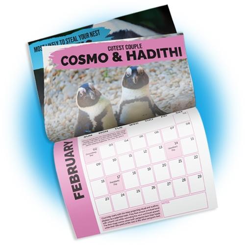 2020 Penguin Calendar