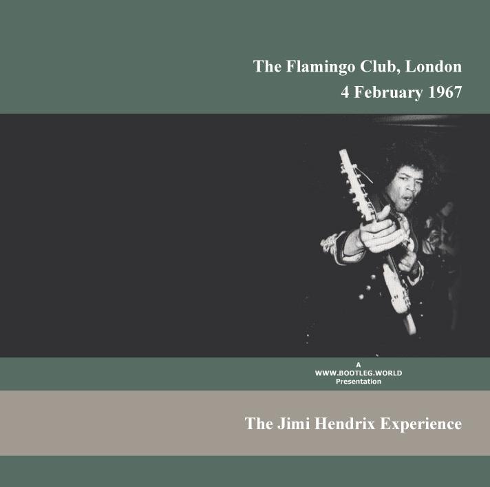 JIMI HENDRIX 1967 02 04 - London UK - The Flamingo Club Esses ...
