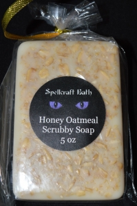 Honey Oatmeal Scrubby Soap