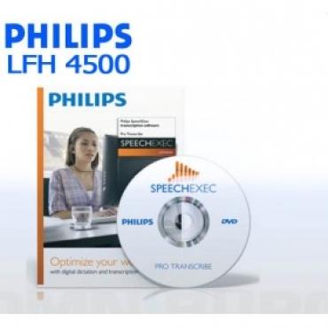 LFH4501/01 - Philips SpeechExec Pro Transcribe V.10 Workflow Software
