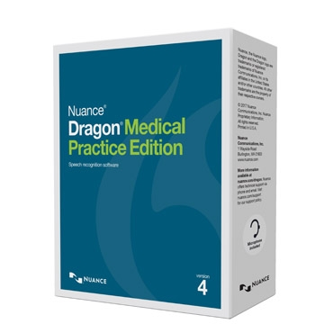 Dragon Medical Practice Edition 4 (Version anglaise)