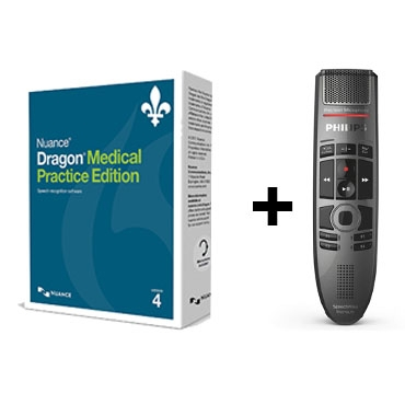 Dragon Medical 4 - French and Philips' SpeechMike Premium Touch