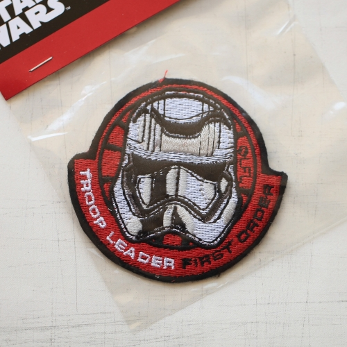 7.5 x 7 cm, Star Wars Stormtrooper Iron On Patch (P-589)
