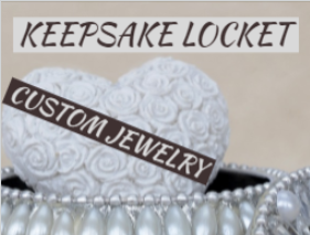 Keepsake Locket Custom Jewelry