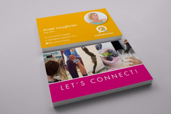 Personal Colour ATG Business Cards Option 2