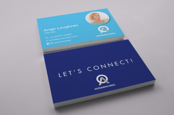 Personal Colour ATG Business Cards Option 3