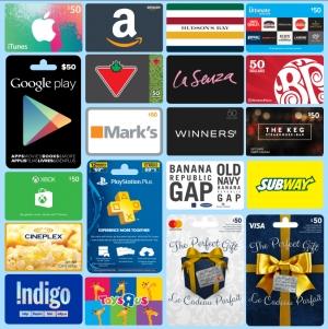 Gift Cards Codes, Digital Keys, All Types, Choose Below