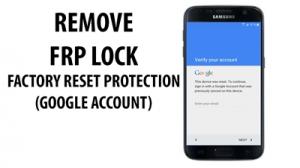 FRP, Google Account Unlock, Choose version Below